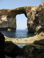 L'Azure Window, et la vasque où on a plongé